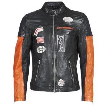 Vêtements Homme Vestes en cuir / synthétiques Oakwood INDIE Noir / Orange