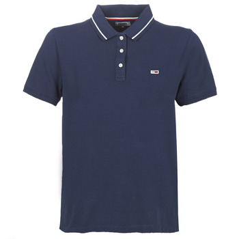 Vêtements Femme Polos manches courtes Tommy Jeans TJW TOMMY CLASSICS POLO Marine
