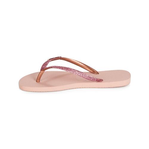 Rose Chaussures Glitter Havaianas Slim Tongs Femme PXiTOkwuZ