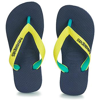 Chaussures Tongs Havaianas TOP MIX Jaune