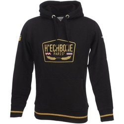 Vêtements Homme Sweats H Echbone Pal noir cap sweat Noir