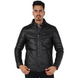 Vêtements Homme Vestes en cuir / synthétiques Oakwood Blouson  Ethan en cuir ref_cco43975 Noir Noir