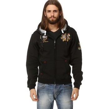 Vêtements Homme Sweats Geographical Norway Veste / Gilet Géographical norway Gruger Noir Noir