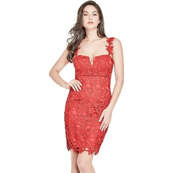 Robe Guess Robe Phoebe Rouge W82K17 (rft)
