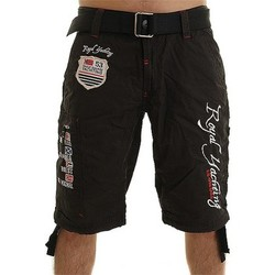 Vêtements Homme Shorts / Bermudas Eagle Square Short  Master Noir Noir