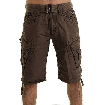 Vêtements Homme Shorts / Bermudas Eagle Square Short  Peninsula Kaki Kaki