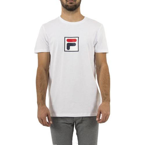 Vêtements Homme T-shirts manches courtes Fila 682099 evan 2.0 blanc