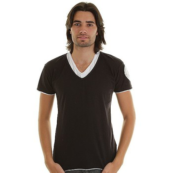 Vêtements Homme T-shirts manches courtes Eagle Square T-shirt  Interesting Noir