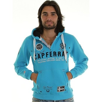 Vêtements Homme Sweats Geographical Norway Sweat Géographical norway  Capferrat Turquoise Bleu