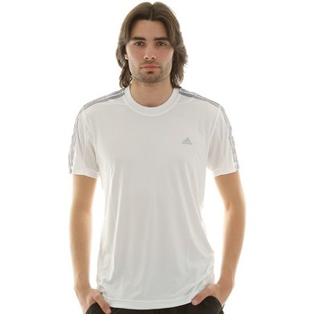 Vêtements Homme T-shirts manches courtes adidas Performance T-shirt  Nov Uv Clima Blanc