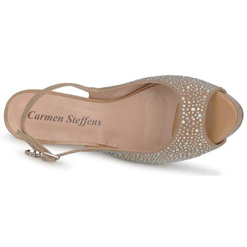 Sandales Marron Steffens Femme Nimea Nu pieds Et Carmen Aq34RL5j