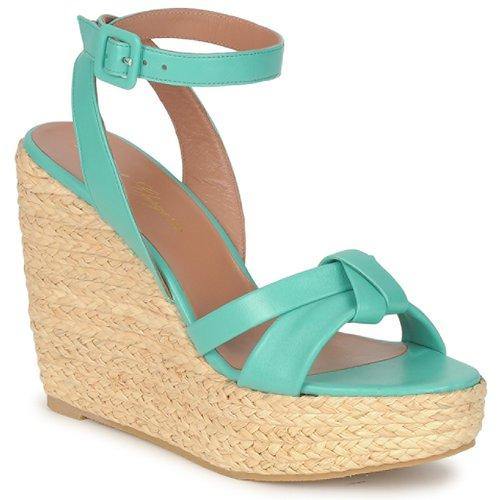 Chaussures Femme Sandales et Nu-pieds Robert Clergerie DEBA Pacifique / Naturel