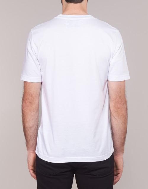 Manches obox Reg Homme Calvin Embro Courtes T Ss Blanc W Klein shirts Monogram Jeans K31lcTFJ
