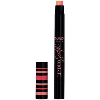 Beauté Femme Rouges à lèvres Bourjois Lip Duo Sculpt 002-peach-shake 1,1 g