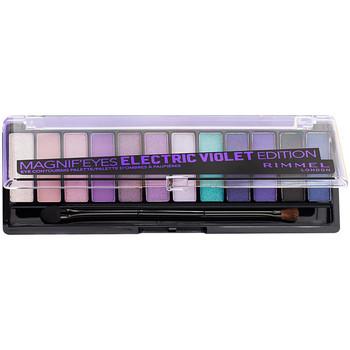Beauté Femme Palettes maquillage yeux Rimmel London Magnif'Eyes Palette 008-electric Violet 1 u