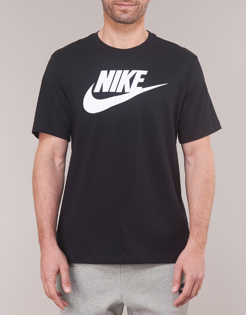 shirts Noir Courtes T Manches Sportswear Homme Nike 29WEDHIY