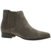 Chaussures Femme Boots Pao Boots cuir velours Gris