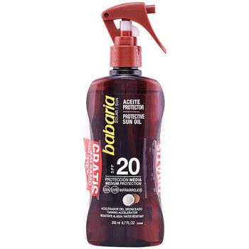 Beauté Protections solaires Babaria Solar Aceite Coco Spf20 Pistola Coffret 2 Pz 2 u