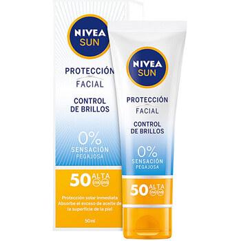 Beauté Protections solaires Nivea Sun Facial Control De Brillos Spf50