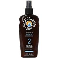 Beauté Protections solaires Mediterraneo Sun Carrot Suntan Oil Dark Tanning Spf2