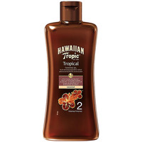 Beauté Protections solaires Hawaiian Tropic Coconut Tropical Tanning Oil Spf2