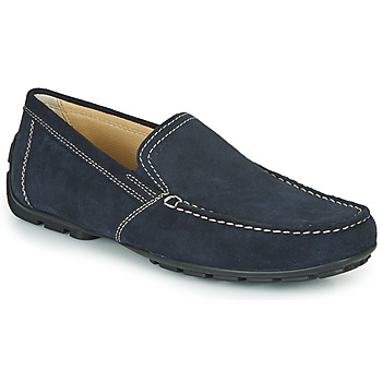 Chaussures Homme Mocassins Geox MONET Bleu