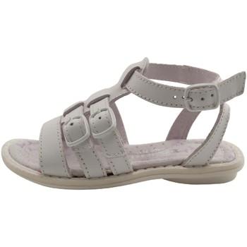 Chaussures Fille Sandales et Nu-pieds Melania - ADELINE - SANDALE  SALOME - BLANC BLANC