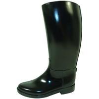 Chaussures Femme Bottes de pluie Méduse FLAMBO VERNI NOIR