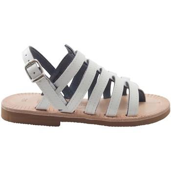 Chaussures Femme Sandales et Nu-pieds Les Spartiates Phoceennes 5 LC BLANC