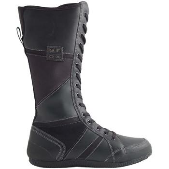 Chaussures Femme Bottes ville Geox Enfants J03C2G-PENELOS NOIR