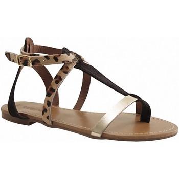 Chaussures Femme Sandales et Nu-pieds Reqin's KUTA NOIR