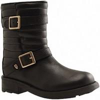 Chaussures Femme Bottes ville Reqin's - SCOTTY - DEMI BOTTE - NOIR NOIR