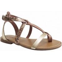 Chaussures Femme Sandales et Nu-pieds Reqin's - KUTA CRIQUET - SANDALE  SALOME - TAUPE TAUPE