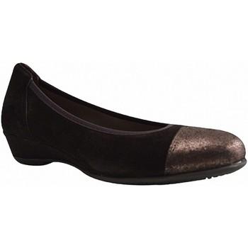 Chaussures Femme Ballerines / babies Longo 29225 NOIR