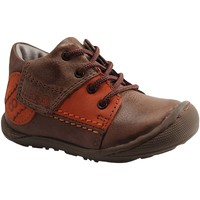 Chaussures Garçon Baskets montantes Mod'8 DAMIAN MARRON