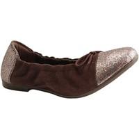 Chaussures Femme Baskets mode Reqin's - VERA - BALLERINE - MARRON MARRON