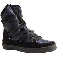 Chaussures Femme Baskets montantes Reqin's MOONLIGHT LAME BLEU OCEAN