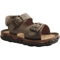 Chaussures Garçon Sandales et Nu-pieds Stones And Bones WHAM KAKI