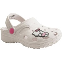 Chaussures Fille Sabots Botty Selection Kids HELLO KETTY2221 BLANC