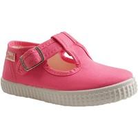 Chaussures Fille Tennis Cienta - SALOME 51000 - PANTOUFLE BASSE - FUCHSIA FUCHSIA