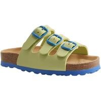 Chaussures Mules Lico BIOLINE JAUNE