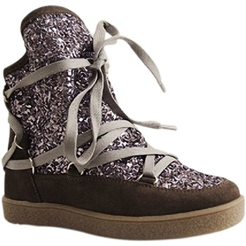Chaussures Femme Bottes de neige Reqin's MOONLIGHT GLITTER GRIS