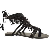 Chaussures Femme Sandales et Nu-pieds Reqin's KALIKO NOIR