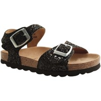 Chaussures Fille Mules Reqin's OASIS GLITTER NOIR