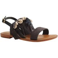 Chaussures Femme Sandales et Nu-pieds L'atelier Tropezien CY831 BLEU MARINE