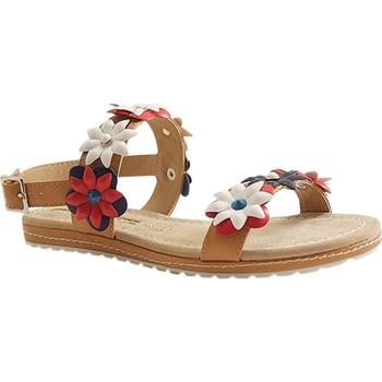 Chaussures Femme Sandales et Nu-pieds Maria Mare 66771 MARRON MOYEN