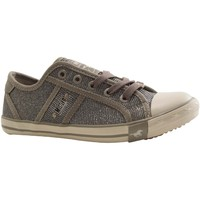 Chaussures Femme Baskets basses Mustang 5803 308 GRIS CLAIR