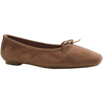 Chaussures Femme Escarpins Reqin's - HARMONY PEAU - BALLERINE - TAUPE TAUPE