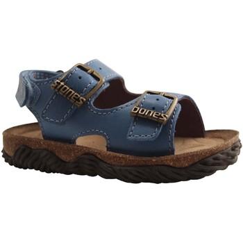 Chaussures Garçon Sandales et Nu-pieds Stones And Bones WHAM TURQUOISE