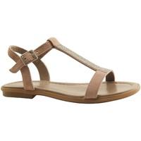 Chaussures Femme Sandales et Nu-pieds Reqin's - TILSSI - SANDALE  SALOME - TAUPE TAUPE